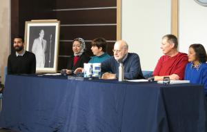 Panelists represented six different religions.