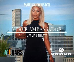 Verve Ambassador Maurisa Goldston