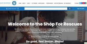website shopforrescues.com