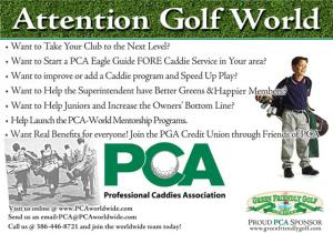 GET OUR BOOKS - TEACH THE PCA CADDIE WAY - LOWER YOUR SCORE ( GUARANTEED ) AND HAVE MORE FUN ON THE LINKS