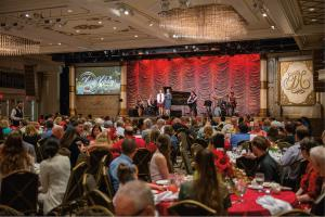 On December 8th, more than 550 community partners, friends, vendors and more attended the Church of Scientology's annual Holiday Community Brunch in the Fort Harrison auditorium.