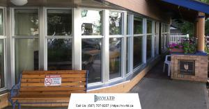 Commercial Windows Renovation Projects - Mount Royal Manor Building