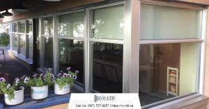 Finished Project Window Replacement in Calgary - Mount Royal Manor Building