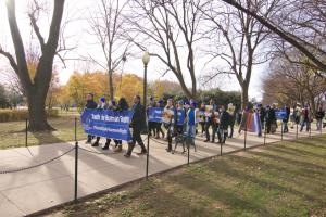 Advocates march to provide a reminder to nations of the world the importance of human rights. There are 193 member states of the UN, all of whom have signed on in agreement with the Universal Declaration of Human Rights.