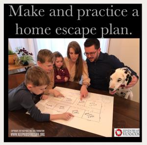 Family with Escape Plan