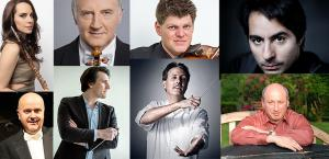 Outstanding Guest Artist and Master Class Series has become an exciting tradition for festival participants to work, listen to and just spend time with the most acclaimed soloists and conductors of today's world stage. InterHarmony is pleased to announce