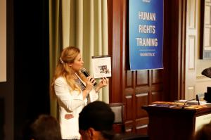 Erica Rodgers explains the UN Universal Declaration of Human Rights as a basis of understanding human rights.