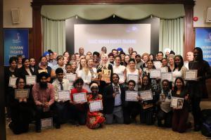 Human Rights training graduates