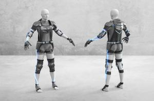 Computer Generated Renderings of the FBG Suits