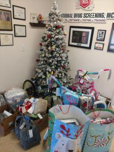 NDS Christmas Giving Team Gift Tree
