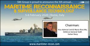 Vice Admiral (ret'd) Mario Rino Me: Chairman for Maritime Reconnaissance & Surveillance Technology 2020