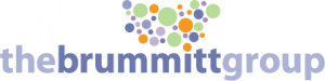 The Brummitt Group Logo - Dots for Icon Plus Name