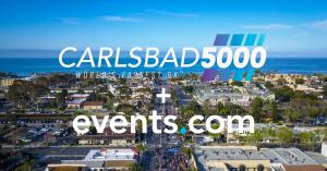 Carlsbad 5000 Partners with Events.com as Official Technology Provider