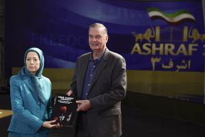 Albania, Nov. 2019 - General James Jones and Mrs. Maryam Rajavi - Ashraf-3