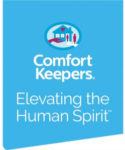 Comfort Keepers Corporate Southbury CT at home health care providers  Logo in Blue
