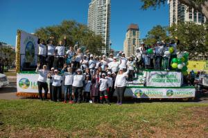 On Jan. 20 The Way to Happiness Association of Tampa Bay will participate in the MLK Dream Big Celebration's parade. Pictured here are TWTH volunteers in their float at last year's parade.