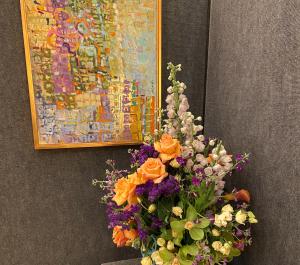 First Place Award – Peggy Vineyard and Helene Pasin of Wilmington, NC – Courtesy Karen Pennington