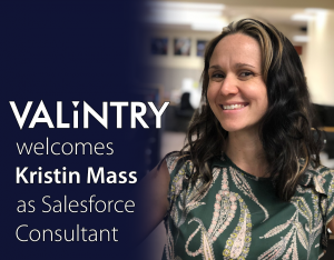VALiNTRY360 Welcomes Kristin Mass as New Salesforce Consultant