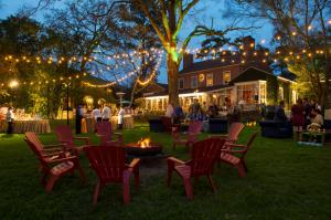 The Houstonian has four on-site restaurants including the historic Manor House.