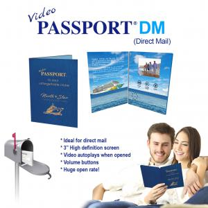 Video Passport DM - Direct Mail with a unique marketing tool