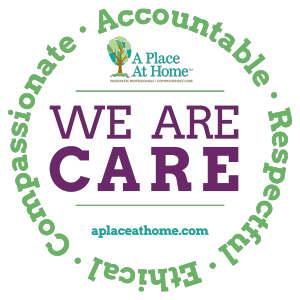 WE ARE CARE logo