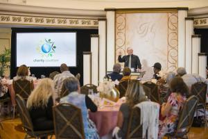 On Jan. 15, the first Charity Coalition Luncheon of 2020 in the Fort Harrison Crystal Ballroom in downtown Clearwater focused on networking and achieving goals in the New Year.