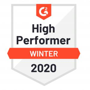G2 High Performer Award Donor Prospect Research