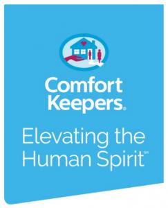 "Comfort Keepers Logo ""elevating the human spirit"""