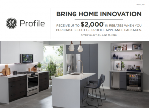 Appliances Connection's 2020 President's Day Sale: GE Profile Rebate