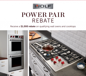 Appliances Connection's 2020 President's Day Sale: Wolf Rebate
