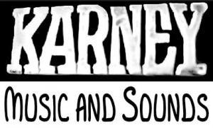 Karney Music and Sounds Logo