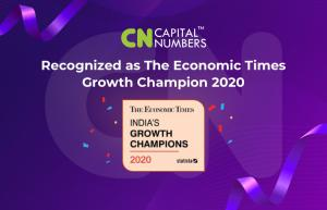 Capital Numbers has been Awarded The Economic Times Growth Champion 2020