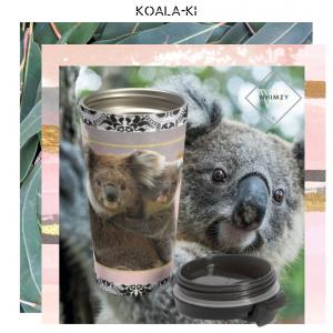 koala australia stainless steel travel mug