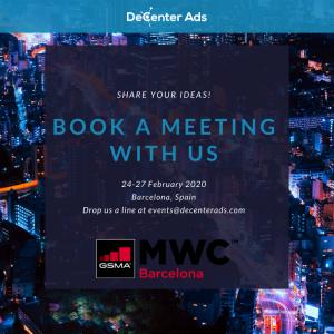 Meet DecenterAds at MWC