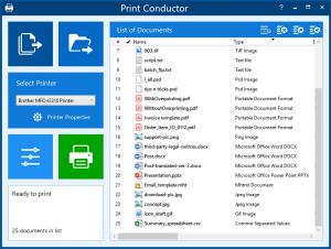 Print Conductor 7.0 New Interface