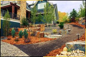 Tazscapes Springbank Landscaping Calgary Project - Day3-2