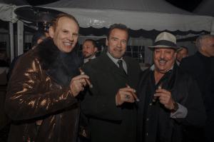 Daniel Marshall Governor Arnold Schwarzenegger Carlos Fuente Kitzbuhel Country Club