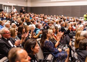 Chagrin Documentary Film Festival crowd