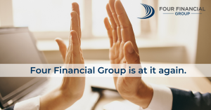 INVESTMENTS. LEGAL. TAX. ADVICE - for the Modern World. Four Financial Group is at it again.