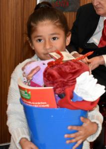 Santa having fun, Children and Families enjoying the Hope for Children Annual Gala