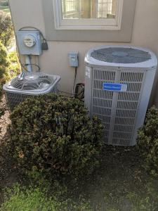 Air conditioning, air scrubbers and ventilations system of a home