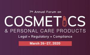 7th Annual Forum on Cosmetics & Personal Care Products | March 26-27, 2020