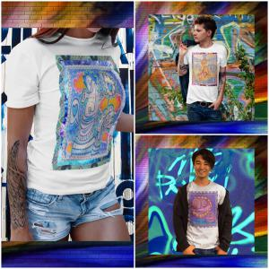 Collage of Mr Hydde T-shirts at Whimzy Tees