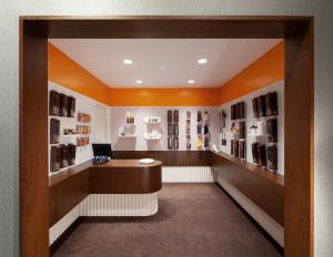 Leather SPA Saks Fifth Avenue New York Retail Design