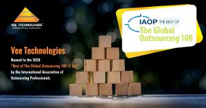 Vee Technologies Named to The 2020 Global Outsourcing 100 List by IAOP
