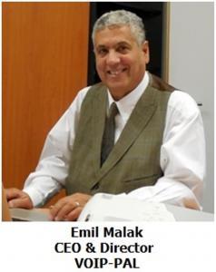 VOIP-PAL CEO Emil Malak