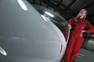 Abigail Harrison - Pilot Astronaut Abby