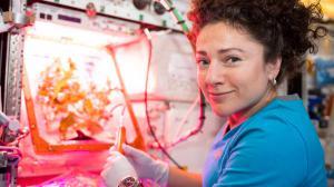 Astronaut Jessica Meir