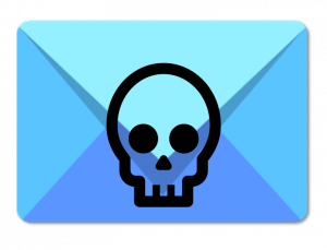 Email with a skull