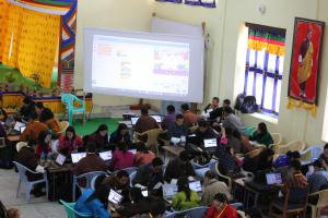 LeapLearner trains teachers from across Bhutan how to code and teach coding curriculum in schools